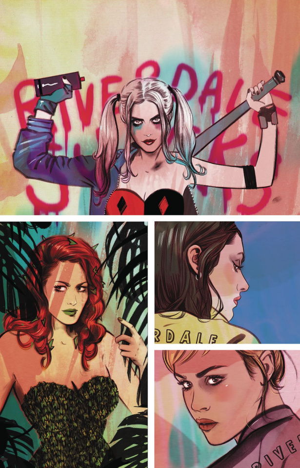 Harley and Ivy Meet Betty and Veronica #6