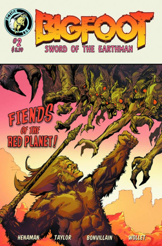 Bigfoot: Sword of the Earthman #2