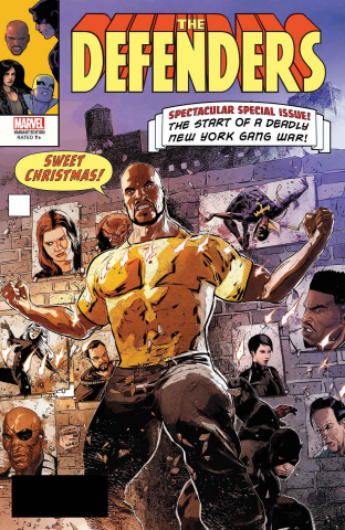 The Defenders #6 (Kudranski Cover)