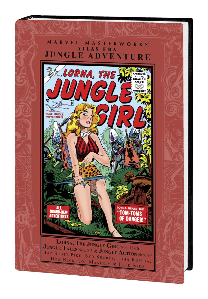 Atlas Era Jungle Adventure Vol. 3 (Marvel Masterworks)