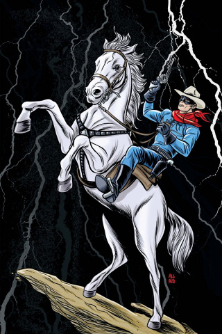The Lone Ranger #1 (50 Copy Allred Virgin Cover)