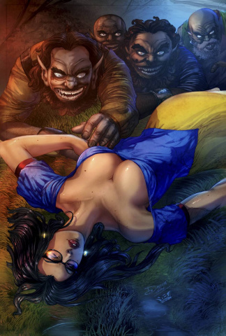 Grimm Fairy Tales Snow White 10th Anniversary Special (Verma Cover)