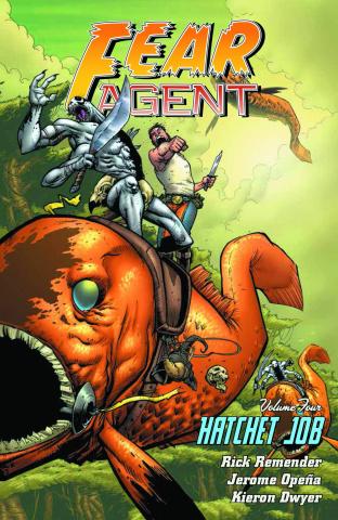 F.E.A.R. Agent Vol. 4: Hatchet Job