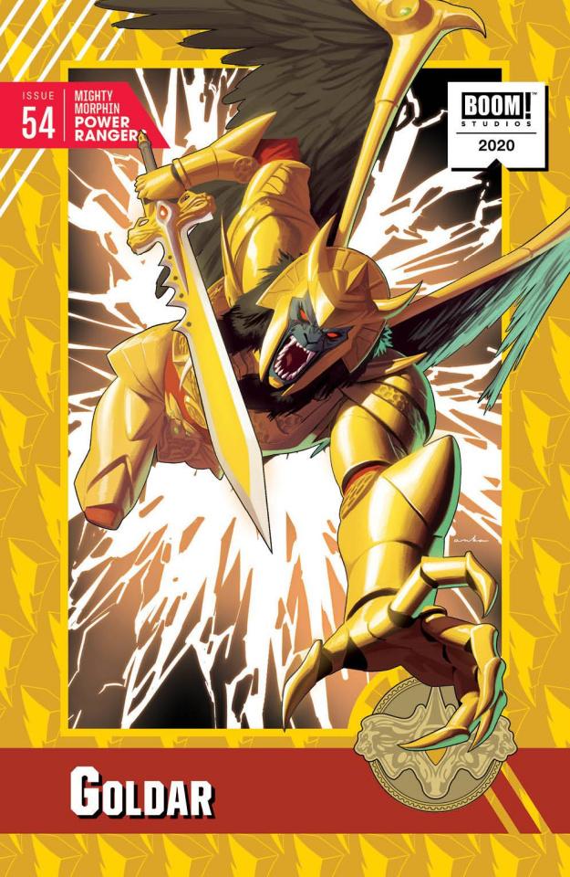 Mighty Morphin' Power Rangers #54 (10 Copy Anka Cover)