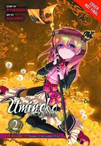 Umineko: When They Cry Ep. 4: Alliance of the Golden Witch