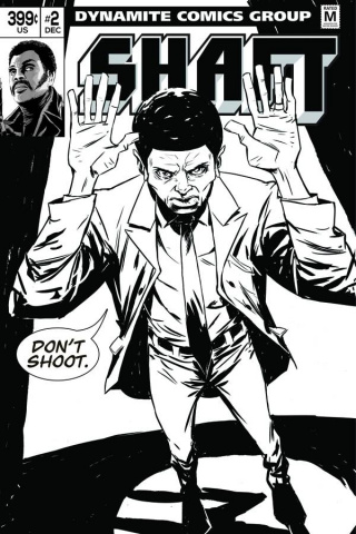 Shaft #2 (15 Copy Greene B&W Cover)