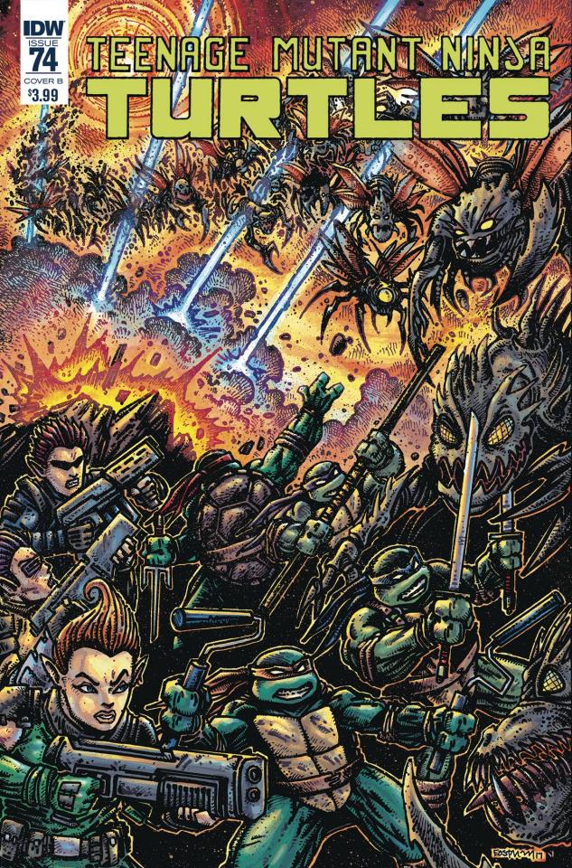 Teenage Mutant Ninja Turtles #74 (Eastman Cover)