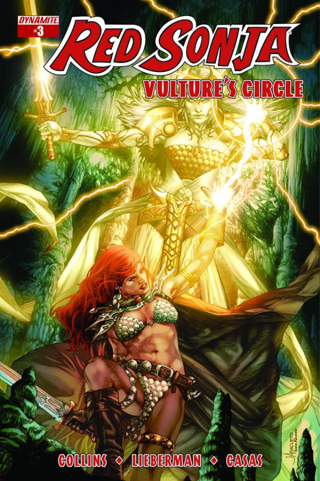 Red Sonja: Vulture's Circle #3 (Anacleto Cover)