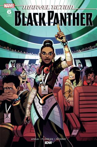 Marvel Action: Black Panther #6 (10 Copy Samu Cover)