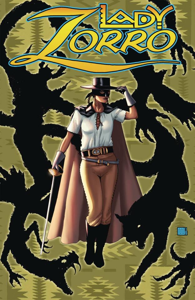 Lady Zorro #1 (Pulp Cover)