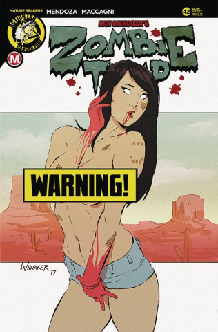Zombie Tramp #42 (Whitaker Risque Cover)
