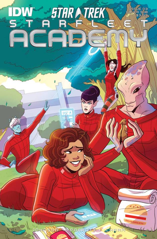 Star Trek: Starfleet Academy #3 (Subscription Cover)