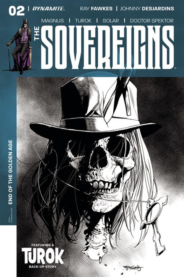 The Sovereigns #2 (30 Copy Segovia B&W Cover)