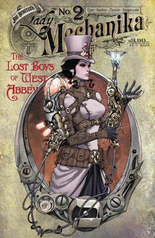 Lady Mechanika: The Lost Boys of West Abbey #2