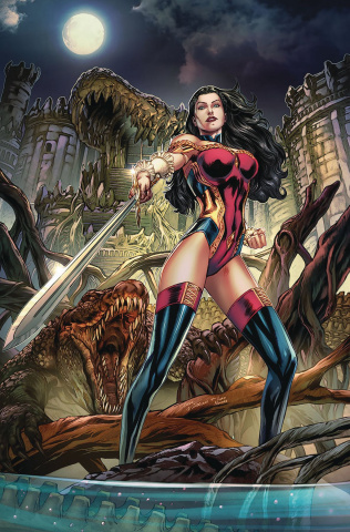Grimm Fairy Tales #33 (Vitorino Cover)