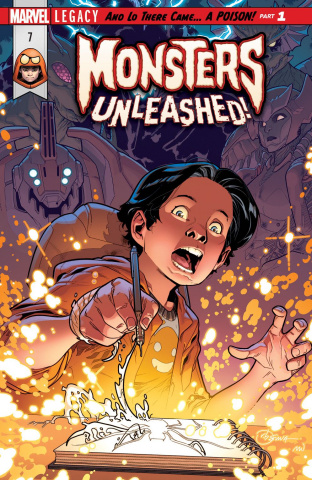 Monsters Unleashed! #7: Legacy