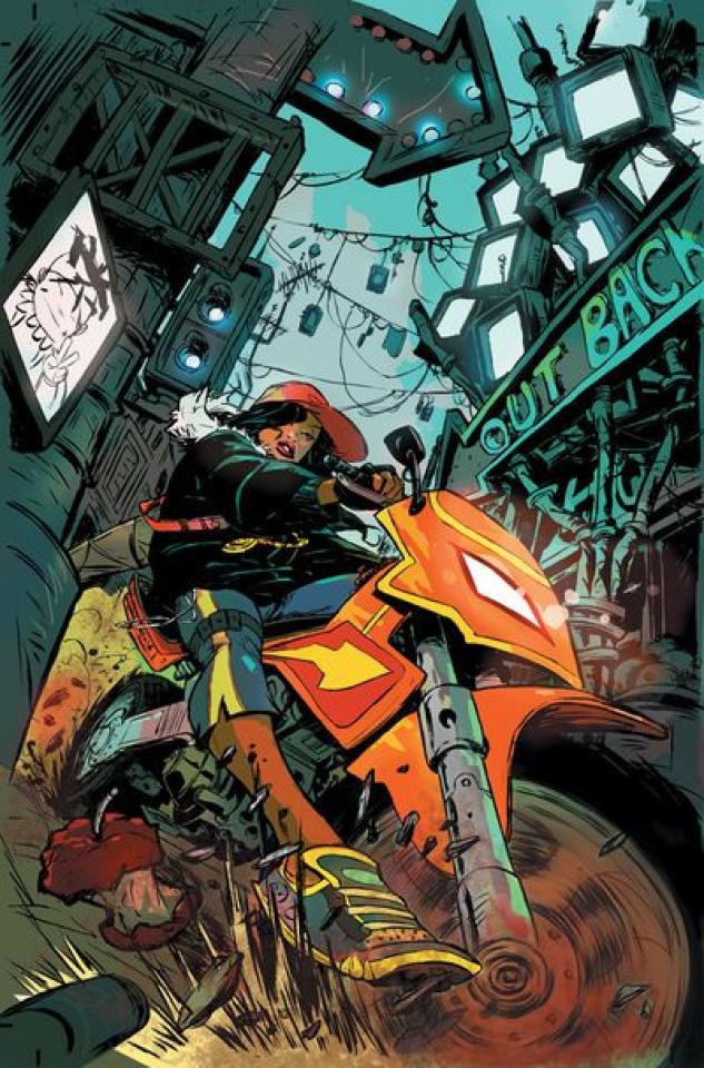 Dark Horse Presents #2 (Sanford Greene Cover)