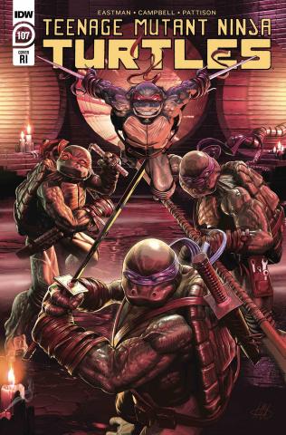 Teenage Mutant Ninja Turtles #107 (10 Copy McArdell Cover)