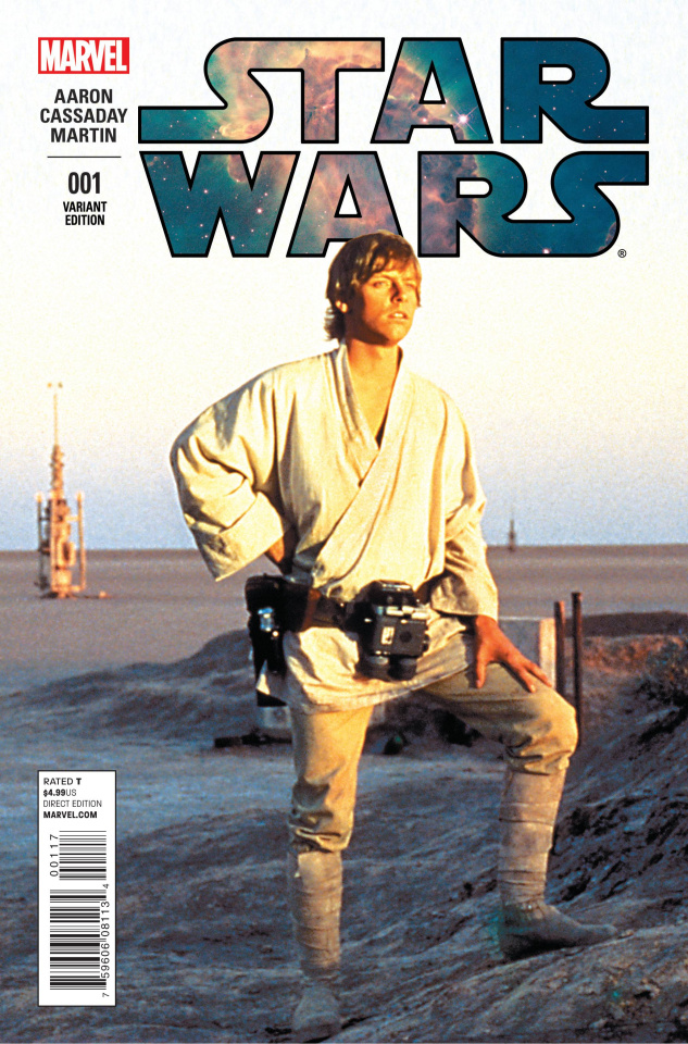 Star Wars #1 (Movie Cover)