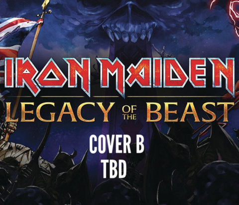 Iron Maiden: Legacy of the Beast #5 (Cover B)