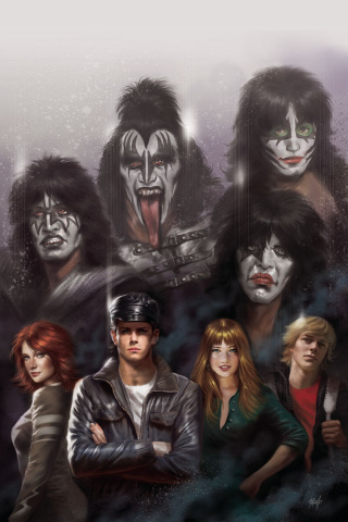 KISS #4 (10 Copy Parillo Virgin Cover)