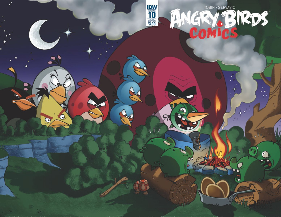Angry Birds Comics #10 (Subscription Cover)
