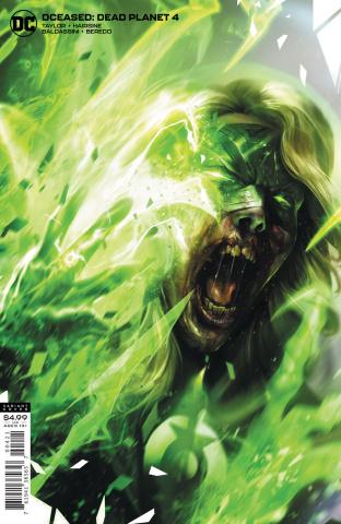 DCeased: Dead Planet #4 (Francesco Mattina Card Stock Cover)
