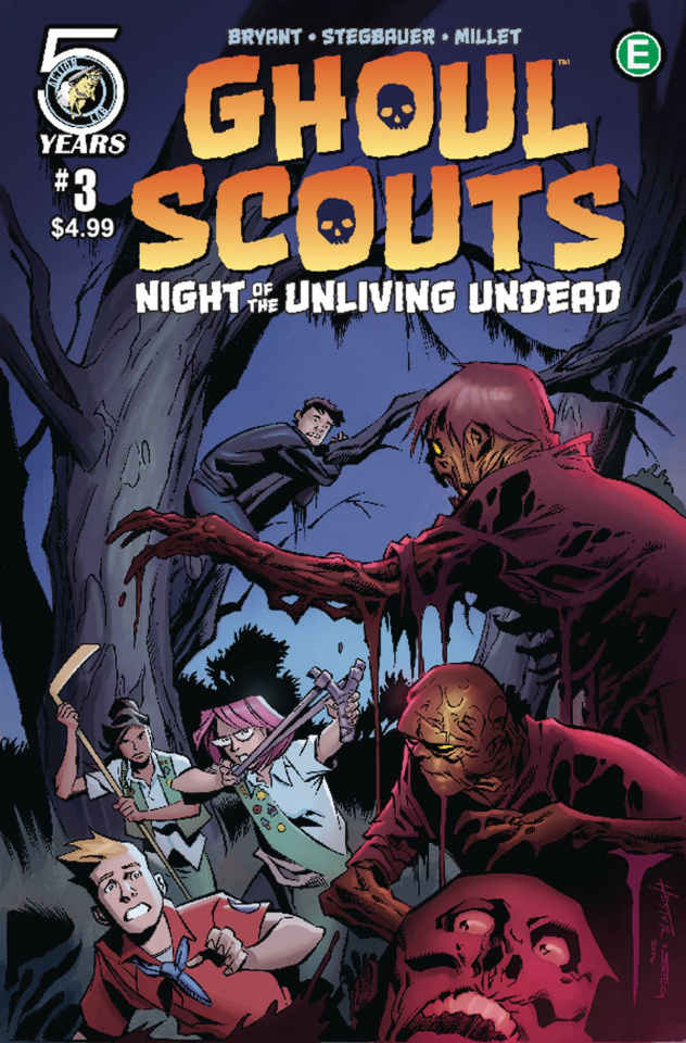 Ghoul Scouts: Night of the Unliving Undead #3 (Hester Cover)