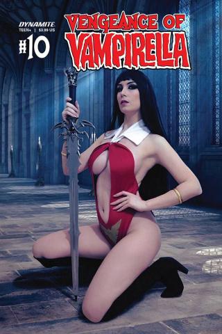 Vengeance of Vampirella #10 (Zawadzki Cosplay Cover)
