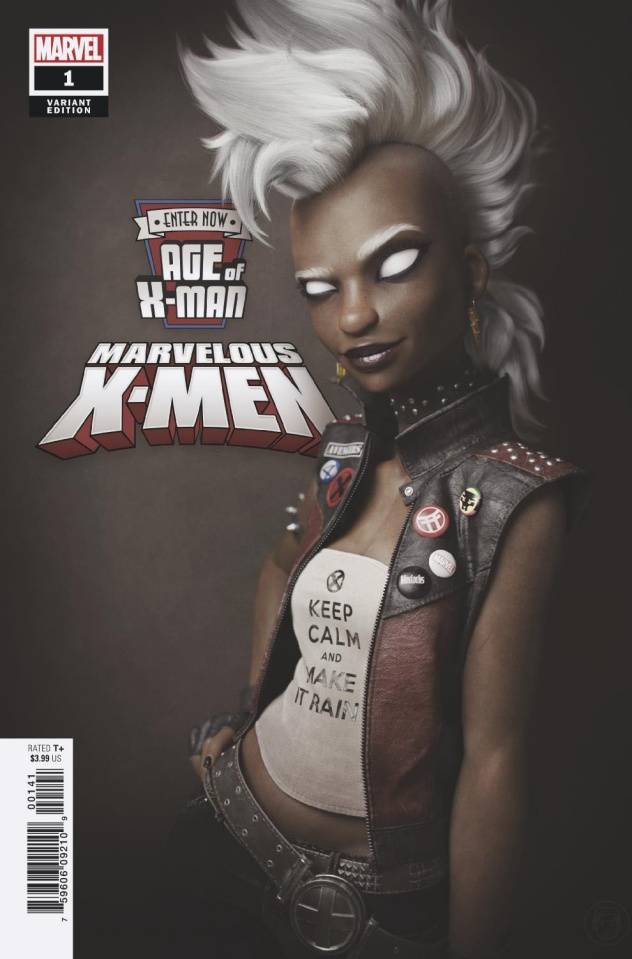 Age of X-Man: The Marvelous X-Men #1 (Hugo Cover)