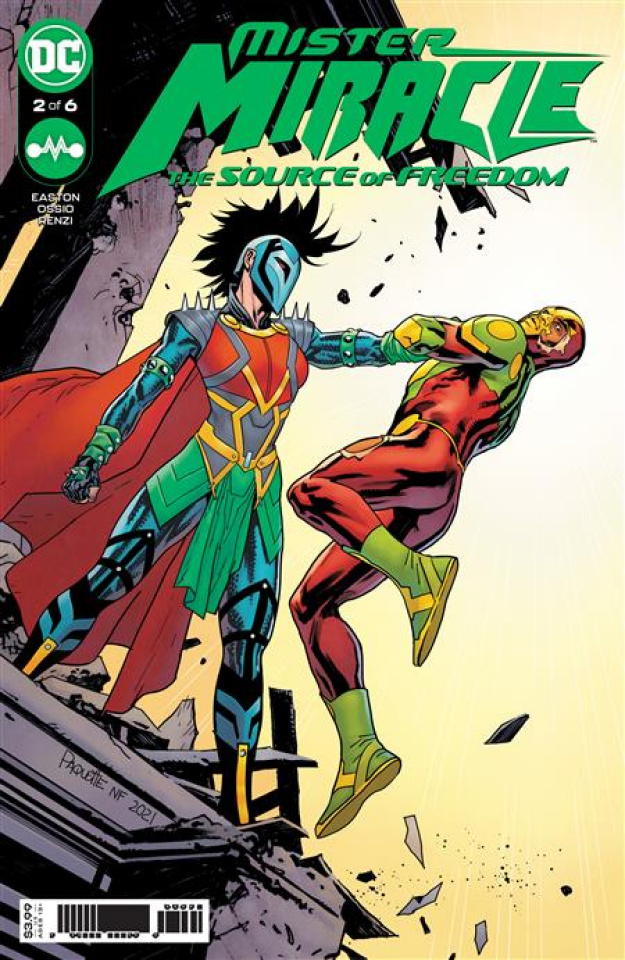 Mister Miracle: The Source of Freedom #2 (Yanick Paquette Cover)