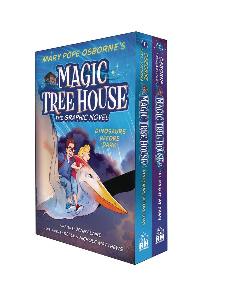 Magic Tree House Vols. 1 & 2 (Box Set)