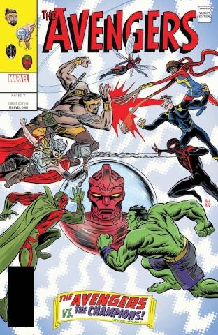 Avengers #672 (Allred Cover)