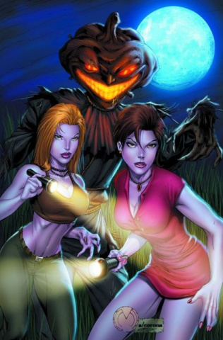 Grimm Fairy Tales Halloween Special 2012 (Mychaels Cover)