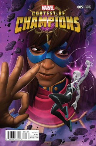 Contest of Champions #5 (Contest of Champions Game Cover)