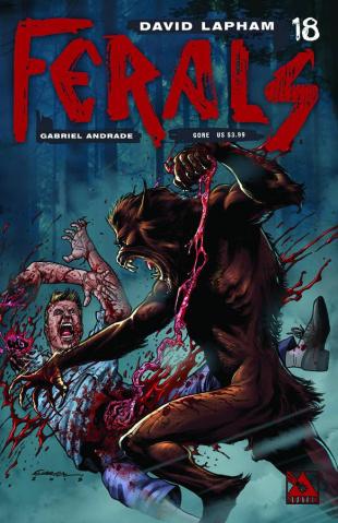 Ferals #18 (Gore Cover)