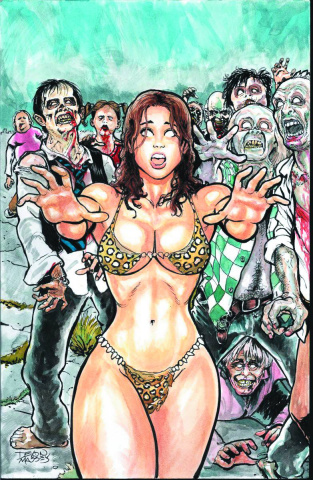 Cavewoman: The Zombie Situation #1 (Cover A)