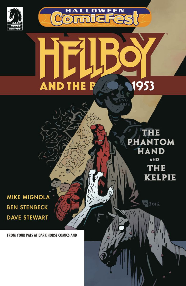 Hellboy and The B.P.R.D. 1953: The Phantom Hand and The Kelpie (Halloween ComicFest 2018)