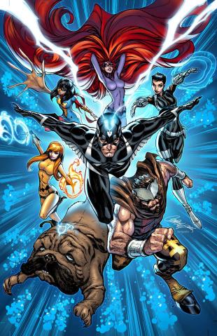Captain America: White #1 (Inhuman 50th Anniversary Cover)