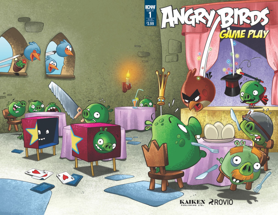 Angry Birds Comics: Game Play #1 (Subscription Cover)
