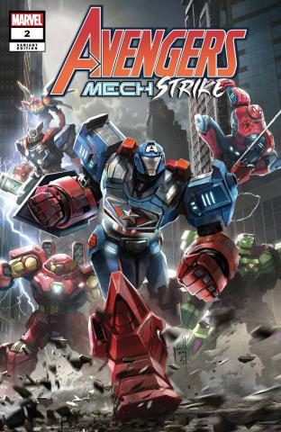 Avengers: Mech Strike #2 (Sng Cover)
