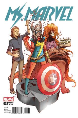 Ms. Marvel #2 (Miyazawa Cover)