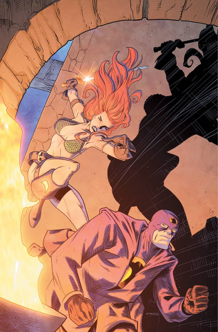 Red Sonja: The Superpowers #2 (25 Copy Ferguson Virgin Cover)