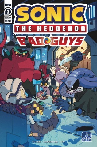 Sonic the Hedgehog: Bad Guys #3 (Hammerstrom Cover)