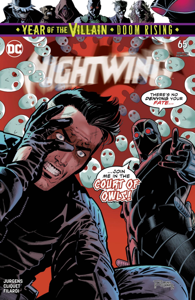 Nightwing #65 (Year of the Villain)