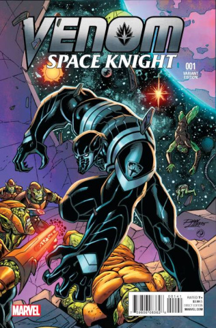 Venom: Space Knight #1 (Lim Cover)