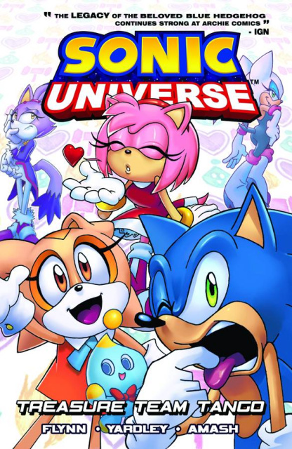 Sonic Universe Vol. 6: Treasure Team Tango