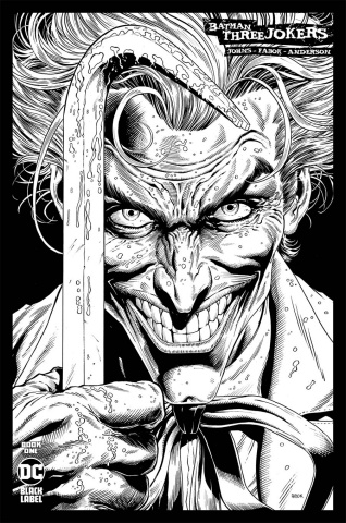 Batman: Three Jokers #1 (1:100 Jason Fabok B&W Cover)