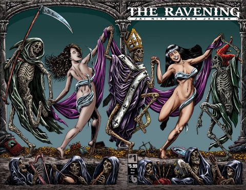 The Ravening #1 (Wrap Cover)