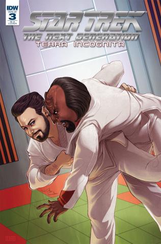 Star Trek: The Next Generation - Terra Incognita #3 (10 Copy Beals Cover)